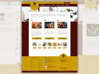 Bank Restaurant Web Site