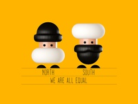 We are all equal #01