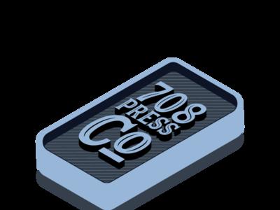 708 Press Co. Logo