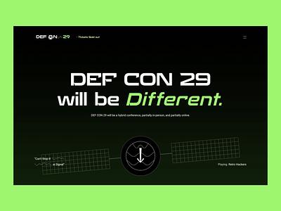 Def Con 29 – Motion Exploration yogesh hacking ui motion design web design defcon hack ui design animation ui animation ux