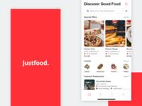 Justfood - Food Order & Delivery App