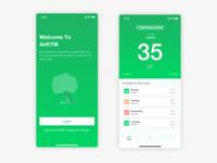 AirKTM - Air Quality Monitoring App Concept
