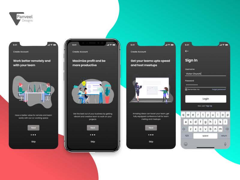 Onboarding screen uplabs challenge sign in ux designer ui  ux ui  ux design app-ui on boarding ui