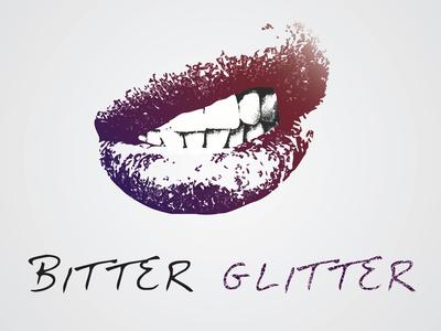 Bitter Glitter logo design
