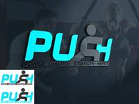 PUSH gym logo