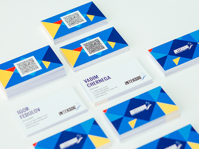 business cards for Intersog