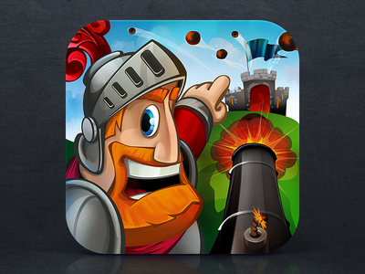 iOS Icon for Wars Online - Defend Your Kingdom