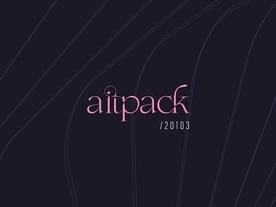 logo aitpack brand branding logotype logo
