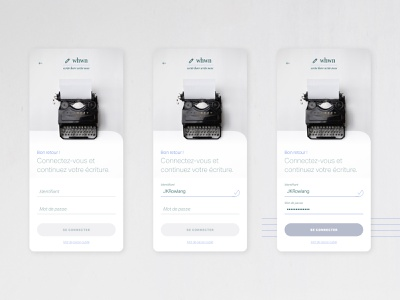 Login design daily ui dailyui app design writers login form login gray