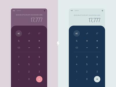 Calculator design calculator app design daily ui dailyui