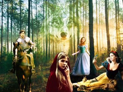 Grimm Stories art photoshop fiction