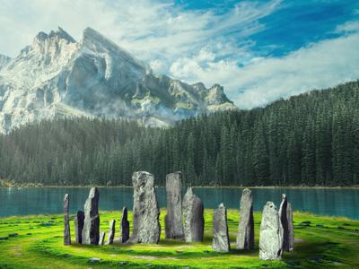 Magic Landscape photoshop landscape outlander