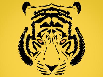 Tiger design nature tiger illustration