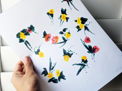 Fsteinmetz Case Study Floral Print
