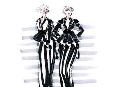 B/W Duo