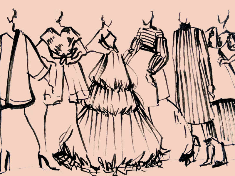 Fashion Illustration By Anna Peng On Dribbble