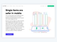 Data Viz Landing Page: Riskified