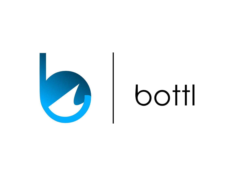 bottl logo design app logo vector icon design affinity designer