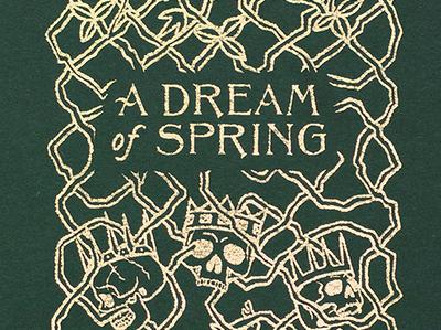 A Dream of Spring Book Cover