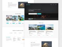 Airguides - Travel Website Redesign