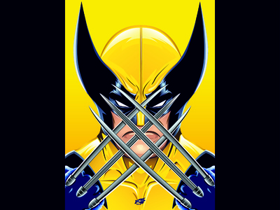 X-Men Wolverine Art Poster