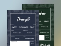 Coffee Bag Labels