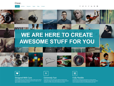 My recent premium template template html clear modern ui jquery commercial grid flat