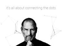 A little tribute to Steve Jobs (check live demo)