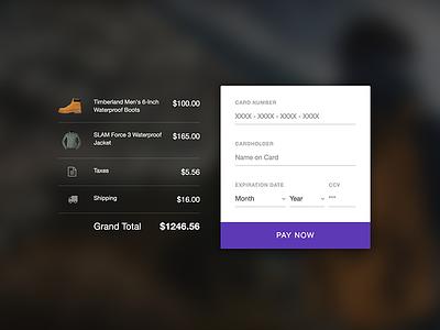 Live! Credit Card UI challenge (Freebie) animation validation website user interface ui ui02 ui challenge checkout credit card