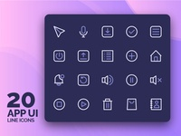 App User Interfaces Icons