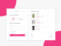 Credit Card Checkout Daily UI Challenge #002