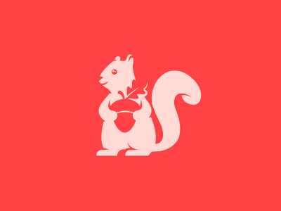 Squirrel mascot freelancer utrecht utrecht utrecht designer negative space logo mascot logo squirrel mascot mascot design