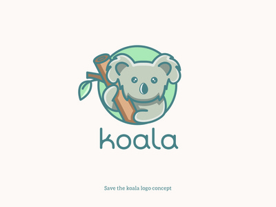 Save the koala logo