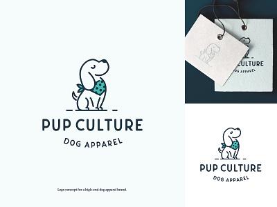 High-end dog apparel brand utrecht playful logo pet logos dutch freelancer dog logo modern logo fun logo dog apparel