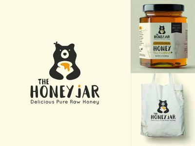 Brand identity & label design honey company