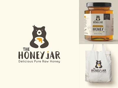 Brand identity & label design honey company food logo honey logo negative space logo dutch freelancer organic label design utrecht brand identity animal logo fun logo playful logo mascot logo