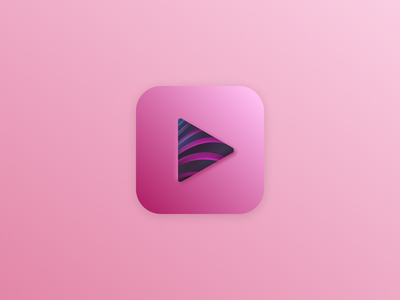 App icon ios pink branding mobile app design design dailyui icon ios