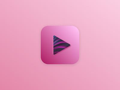 App icon ios pink branding mobile app design design dailyui icon ios