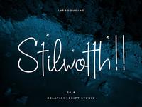 Stilwotth Script Font