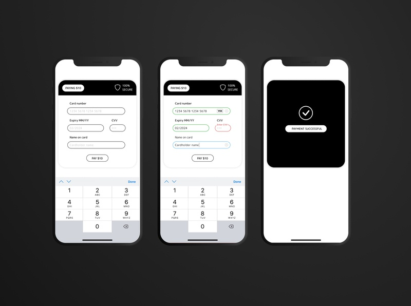 Paying $10 typography icon vector web ux ui minimal app flat design