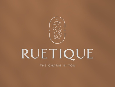 Ruetique playing card cards store fashion illustration fashion brand fashion illustration logo branding brand identity