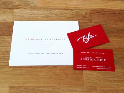 Real Estate Stationery mamas sauce silkscreen letterpress business cards stationery