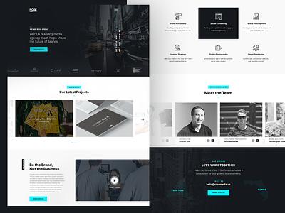 Digital Creative Agency - WebSite creative agency interface website uiux uidesign ui