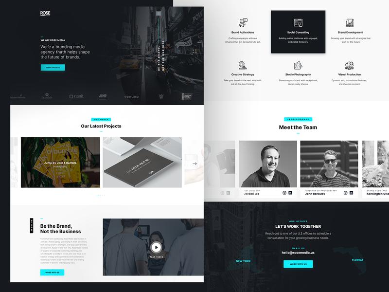 Digital Creative Agency - WebSite