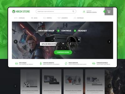 XboxStore Website - Ecommerce