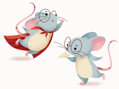 mouse cute mouse charachters illustration vector