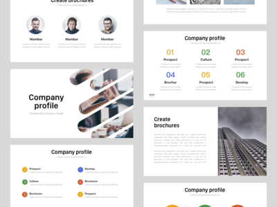 PPT template 01 clean product presentation keynote company eport typography template powerpoint template plan business ppt ppt template