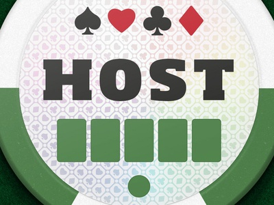 Bold Poker Chip Detail