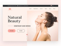 Cosmetic Services Website 💅