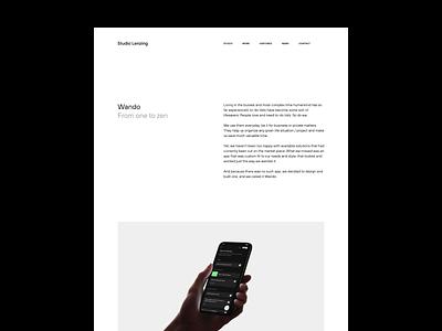 Wando case Study todo productdesign uxuidesign appdesign casestudy